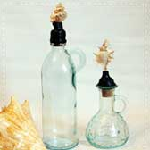 Anthropologie Seashell Bottles