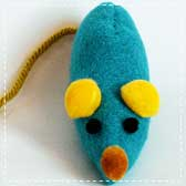 Catnip Mouse Toys