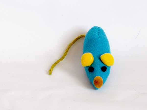Easy Catnip Mouse Sewing Pattern