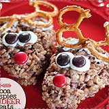 Cocoa Reindeer Rice Krispie Treats