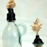 Make Anthropologie Inspired Seashell Bottles