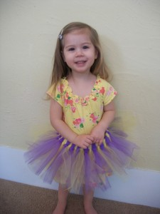 Make a cute, no-sew tutu in less than an hour!