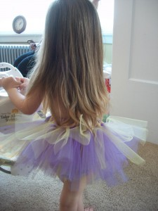 This tutu is adorable all the way around!