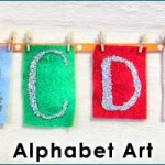 Alphabet Wall Art for Young Children