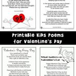 Valentine's Day Kids Poems