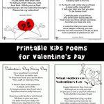 Valentine's Day Kids Poems