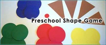 Easy Preschool Shapes & Colors Game