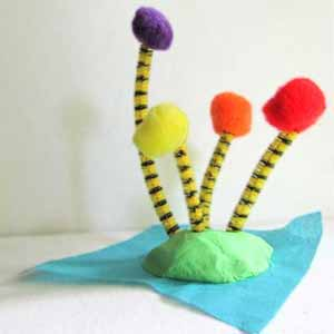 The Lorax Dr. Seuss Craft