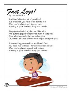 April Fools Day Poems | Woo! Jr  Kids Activities