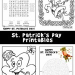 St. Patrick's Day Activity Sheets & Coloring Pages