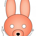 Printable Easter Bunny and Baby Chick Masks