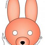 Printable Easter Bunny and Baby Chick Masks