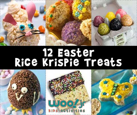 12 Easter Rice Krispie Treat Ideas