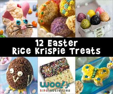 12 Easter Rice Krispie Treat Ideas