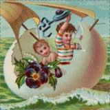vintage easter art Printable Easter Crafts