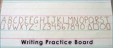 Make a DIY Writing Practice Board