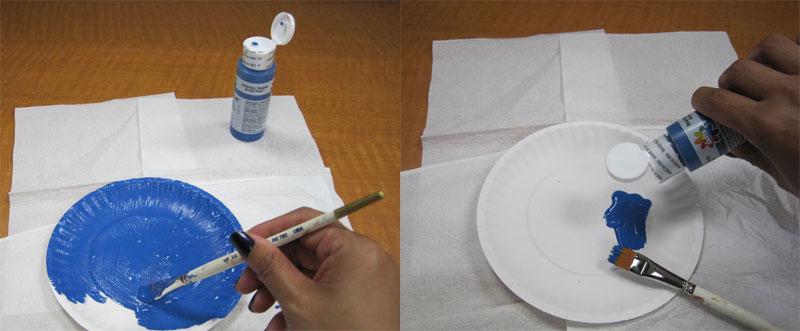 Creative Hands Paper Plate Caterpillar
