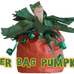 Paper Bag Pumpkin Craft