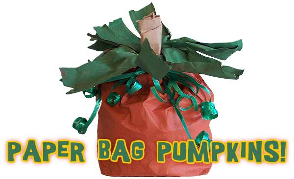 How to Make a Halloween Paper Bag Pumpkin Craft