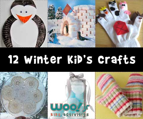 12 Winter Crafts for Kids