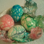 Crafting With Food – Cracked Dyed Dragon Eggs/Dinosaur Eggs