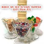 Cool Gift Craft: Ice Cream Sundae Gift Box Kit