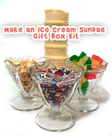 Cool Gift Craft: Ice Cream Sundae Gift Box Kit