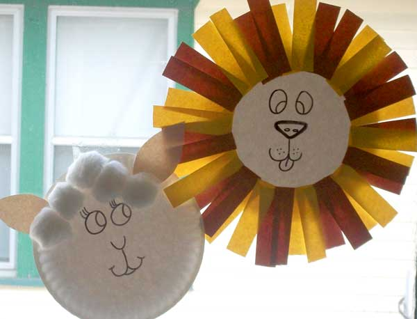 Spring In Like A Lion Out Like A Lamb Craft Project For Kids Woo