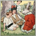 Vintage Easter Bunny Illustration