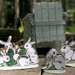 Vintage Easter Paper Toys and Pictures