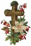 Weathered Wood Easter Cross