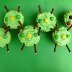 Make Cute Caterpillar Cupcakes