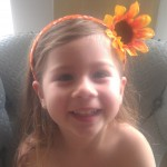 Dollar Store Craft: Floral Headband for Kids