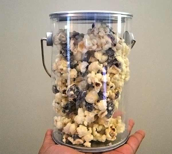 White Chocolate Cranberry Popcorn Recipe for Father's Day Gifts
