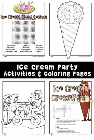 Ice Cream Party Games