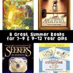 Four Great Summer Reads for 7-9 & 9-12 Year Olds