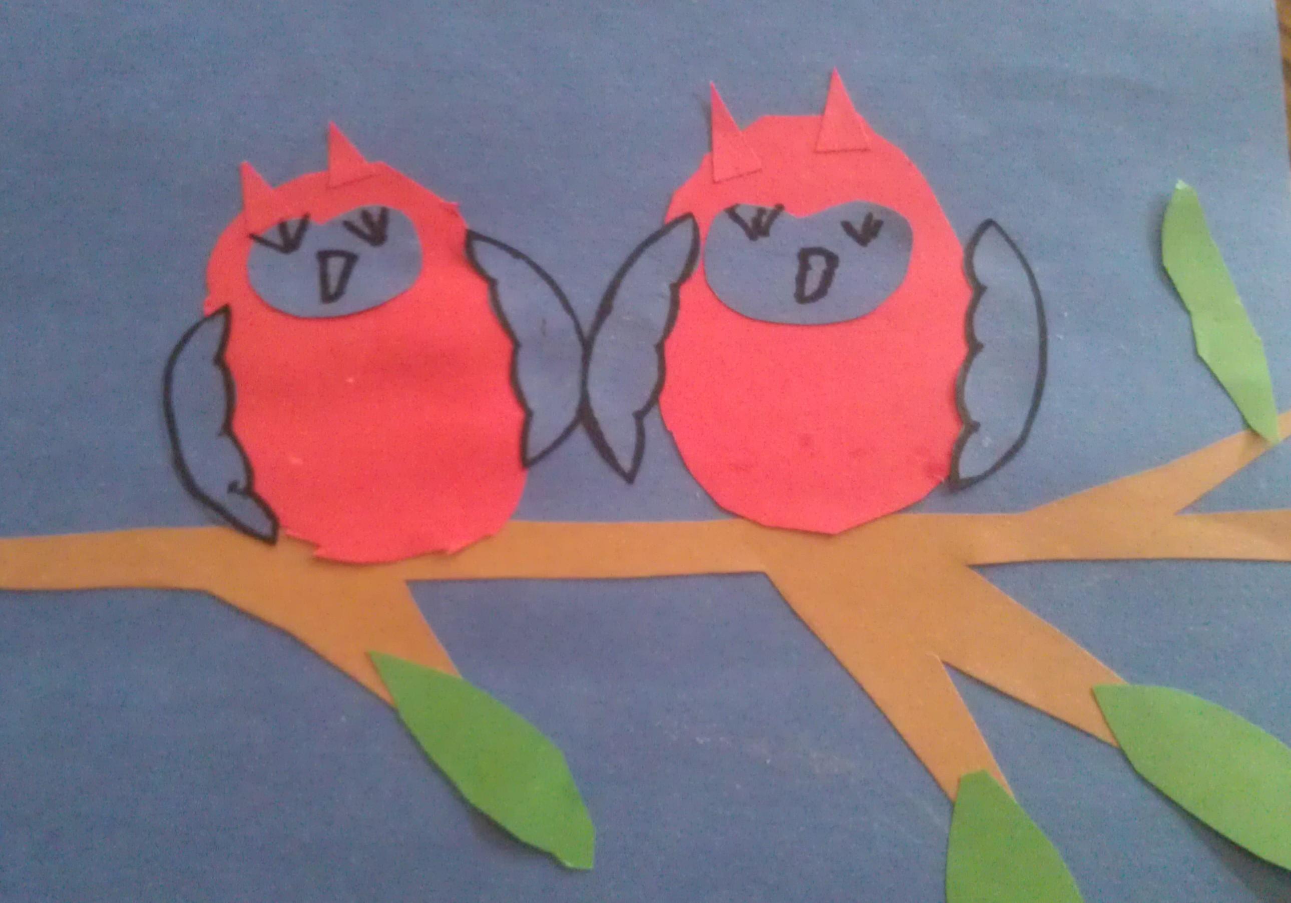 Paper Cutout Owl Craft For Kids Woo Jr Kids Activities