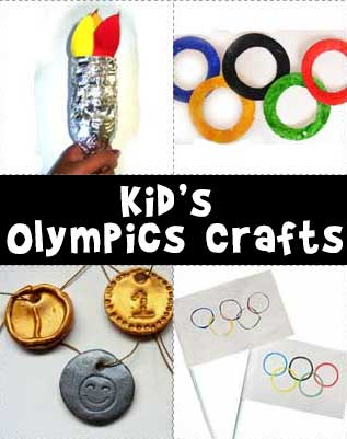 Olympic Games Crafts for Kids