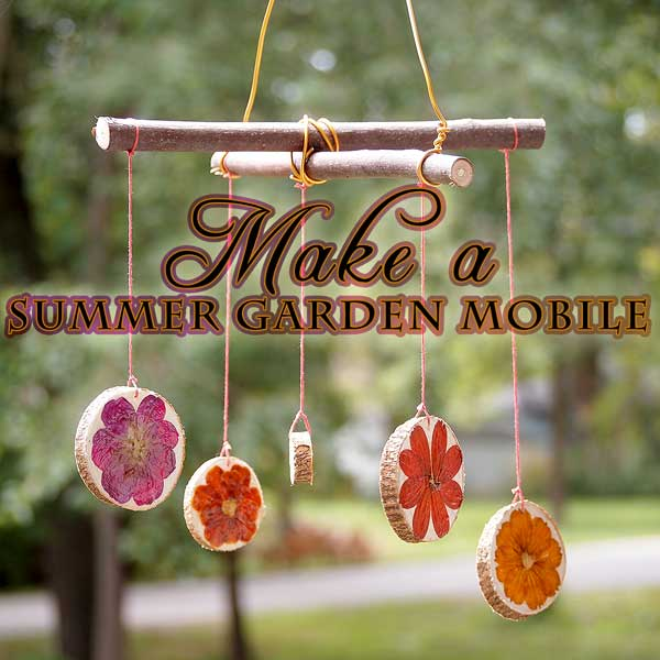 Make a Flower Garden Mobile