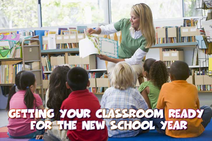 Getting Your Classroom Ready for Back to School