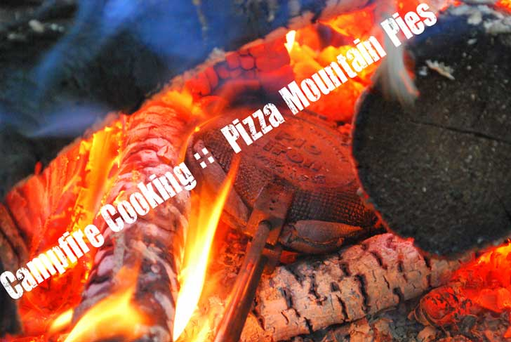 How to Cook Easy Pizza Pies on a Campfire