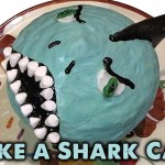 Make a Shark Cake for Shark Week