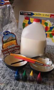 Bread Painting Kids Craft Supplies