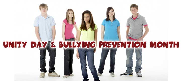 Unity Day and Bullying Prevention Month