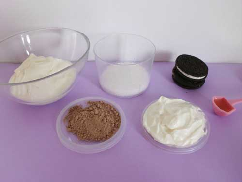 Healthy Oreo Ice Cream Ingredients