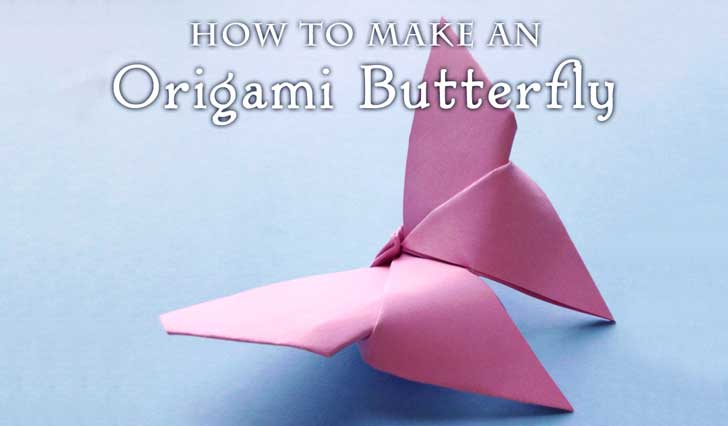How To Fold An Origami Butterfly