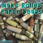 How to DIY Beautiful Paper Beads