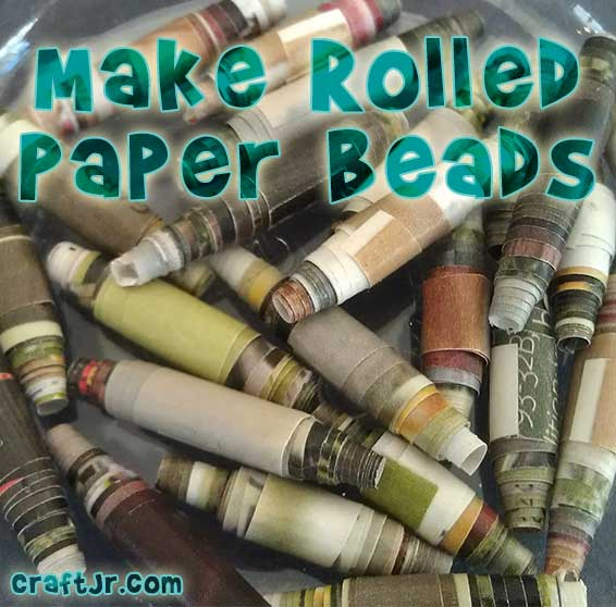 A gorgeous pile of home made paper beads from cut up magazines. A pretty classy craft project, if I do say so myself.