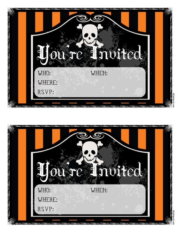 Free Orange amp Black Printable Halloween
