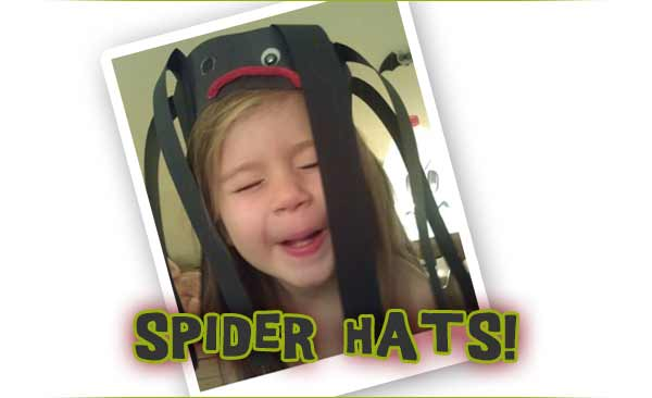 Who doesn't love a giant brain-sucking spider on top of their head?!